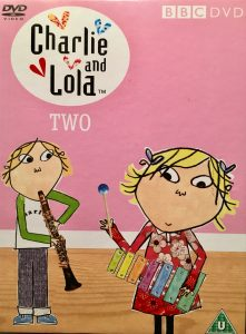 Charlie and Lola musical play BBC DVD cover